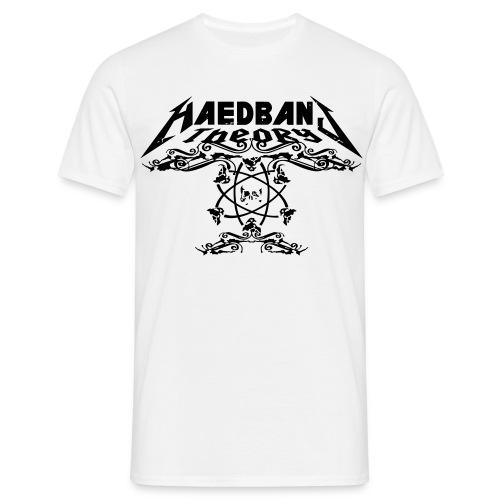 Head Bang Theory Metal Shirt - Männer T-Shirt