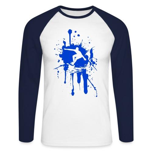 SURFSPLAT LONG SLEEVE - Men's Long Sleeve Baseball T-Shirt