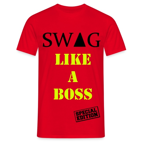 swag like a boss special edition t-shirt - Mannen T-shirt