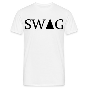 Male Swag White - Men's T-Shirt