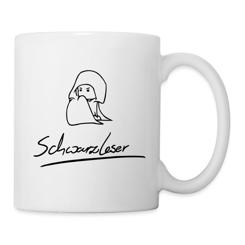 Motiv: Schwarzleser (neu) - Tasse