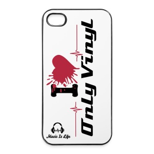 Only Vinyl - iPhone 4/4s Hard Case