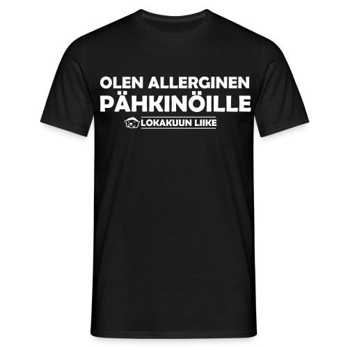 Pähkinäallergia - Miesten t-paita