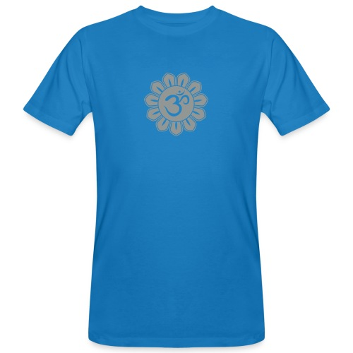 bl. omm lotusbluete shirt - Männer Bio-T-Shirt