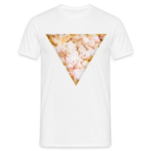Popcorn im Dreieck Herren T-Shirt - Männer T-Shirt