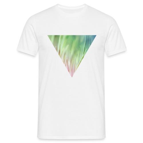 Gras im Dreieck Herren T-Shirt - Männer T-Shirt