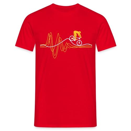 Heartbeat T-shirt - Men's T-Shirt