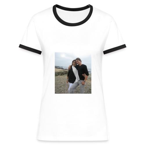 couple ForEver contraste femme - T-shirt contrasté Femme
