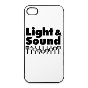i Phone 4 / 4s Cover Light & Sound - iPhone 4/4s Hard Case
