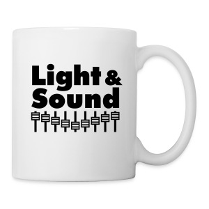 Tasse Light & Sound white - Tasse