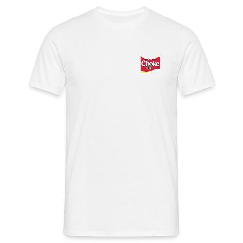 T-shirt met Choke logo - Mannen T-shirt