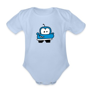 baby cars - Organic Short-sleeved Baby Bodysuit