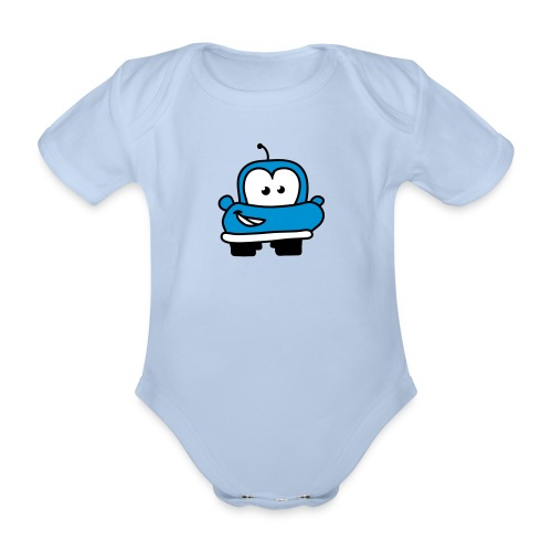 baby cars - Organic Short-sleeved Baby Bodysuit