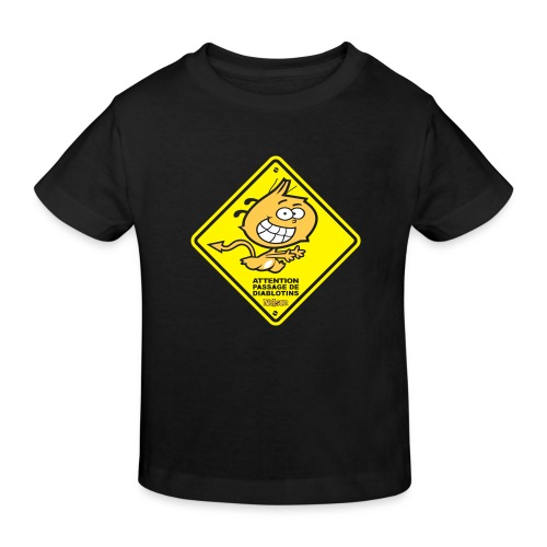 WARNING_Kid - T-shirt bio Enfant
