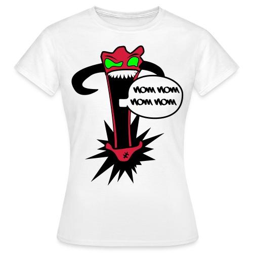 Wombo- NOM NOM NOM NOM  - Women's T-Shirt