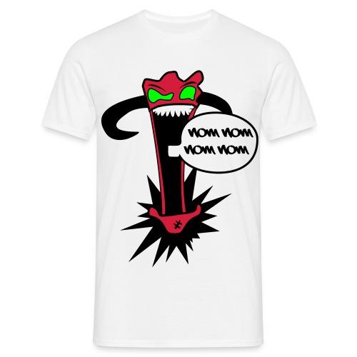 Wombo Combo- NOM NOM NOM NOM  - Men's T-Shirt
