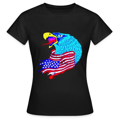 TS NOIR FEMME VETERAN S DAY - T-shirt Femme