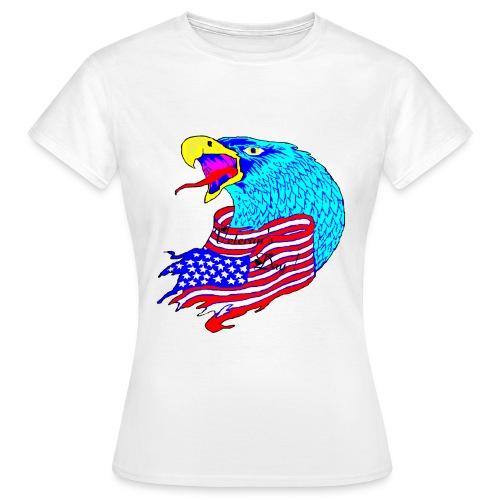 TS BLANC FEMME VETERAN S DAY - T-shirt Femme