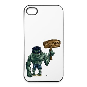 pas content - Coque rigide iPhone 4/4s