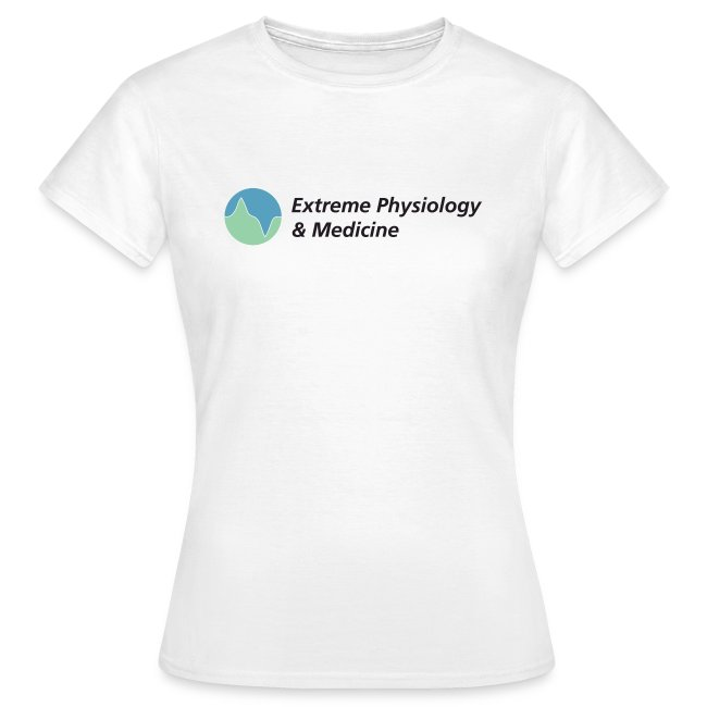 Extreme physiology & medicine women's t-shirt