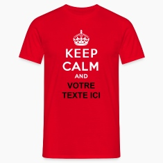 Keep calm and... (votre texte/concept) propre text Tee shirts