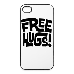 Free Hugs! voor iPhone 4/4S - iPhone 4/4s hard case