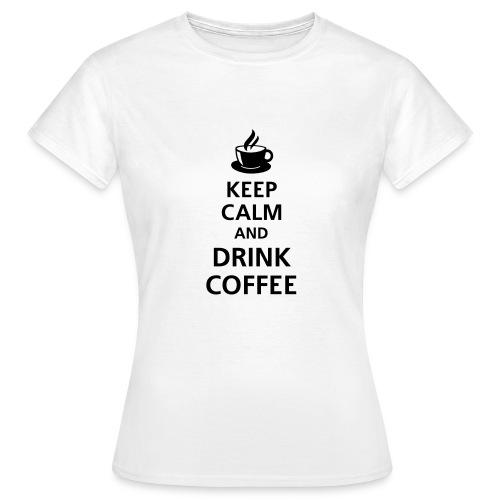 Kaffee T-Shirt - Frauen T-Shirt