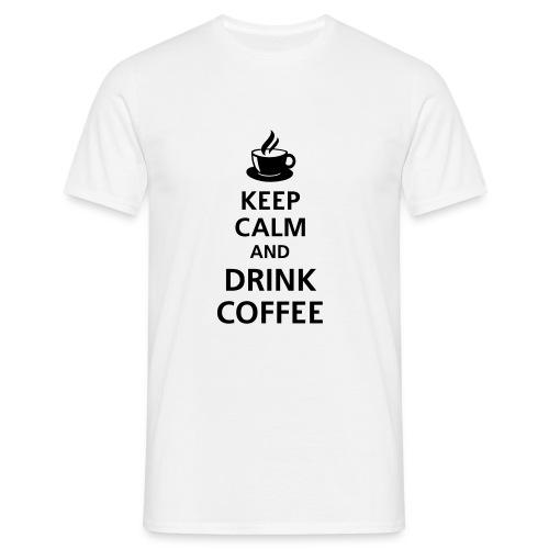 Kaffee T-Shirt - Männer T-Shirt
