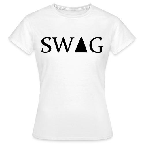 Female Swag White - Women's T-Shirt