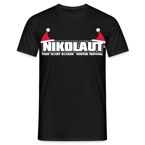 NIKOLAUT logo man - Männer T-Shirt