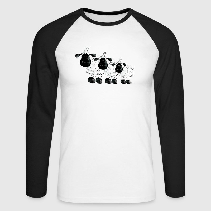 Sheep Shirt Cute And Funny T Shirt Design Long Sleeve