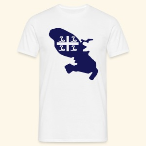 Martinique drapeau fashion - T-shirt Homme