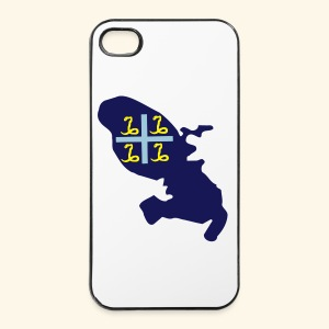 Martinique drapeau fashion - Coque rigide iPhone 4/4s