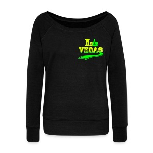 I like Las Vegas - Women's Boat Neck Long Sleeve Top