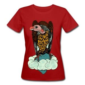 vrouwen  T-shirt gier - Vrouwen Bio-T-shirt