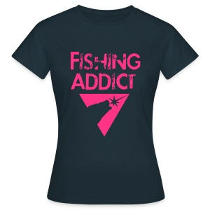 Fishing-shirt girl all-in-1 original pinki - T-shirt Femme