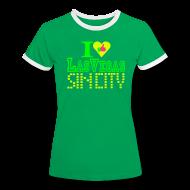 T-Shirts ~ Women's Ringer T-Shirt ~ I like Las Vegas sin city