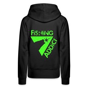 Fishing-sweat girl alien legend - Sweat-shirt à capuche Premium pour femmes