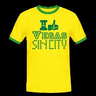 T-Shirts ~ Men's Ringer Shirt ~ I like Vegas sin city