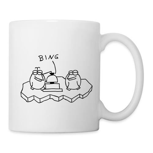 Die Binguine - Tasse (weiß) - Tasse