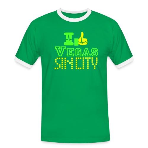 I like Vegas sin city - Men's Ringer Shirt