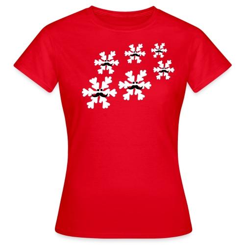 Schneebart - Frauen T-Shirt