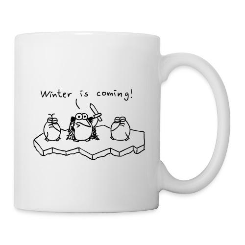 Winter is coming - Tasse (weiß) - Tasse