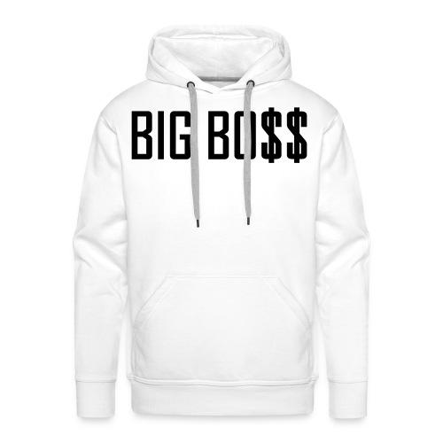 'BIG BOSS' Sweater mannen. - Mannen Premium hoodie