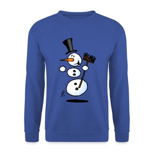 Dancing snowman - Men's Sweatshirt