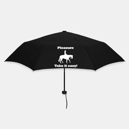 Regenschirm Pleasure Westenreiten - Regenschirm (klein)