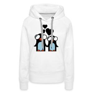'in love' Sweater vrouwen. - Vrouwen Premium hoodie