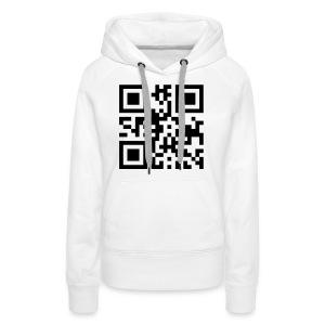 'Scancode' trui vrouwen. - Vrouwen Premium hoodie