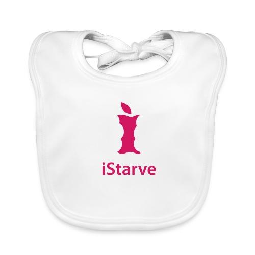 Pink - Ich habe Hunger - Baby Bio-Lätzchen