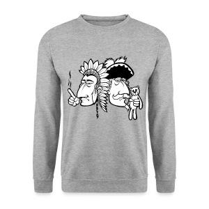 sweater Häuptling und Baron (ohne Typo) - Männer Pullover